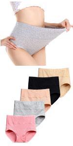 Women's Cotton Underwear high waist