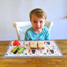 Suessie Disposable Placemats - Forest Animals
