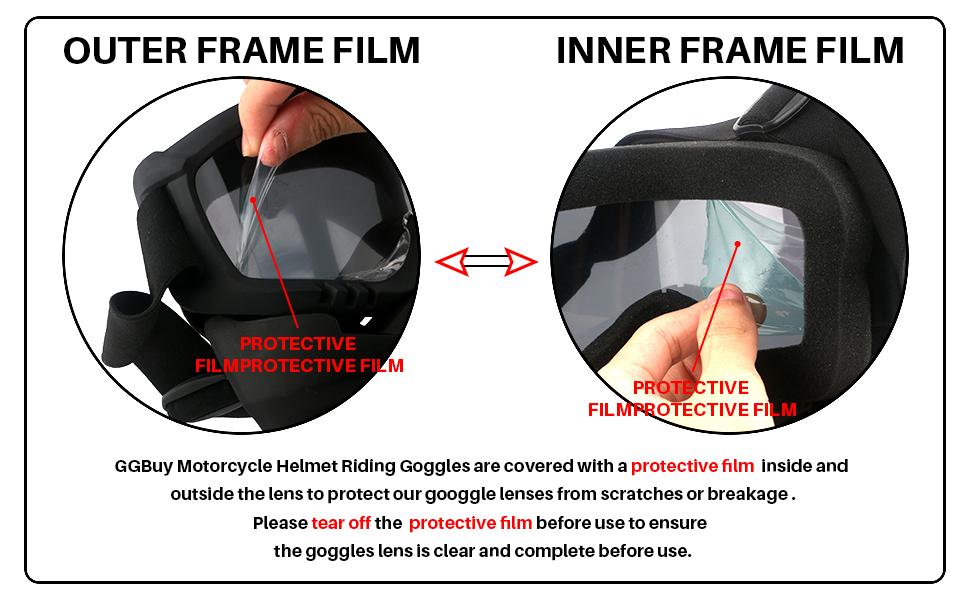 GGBuy helmet goggles A+10