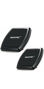 [2 Pack] TECOTEC Universal Ultra Strong 8X N50 Magnets Flat Car Mount Holder