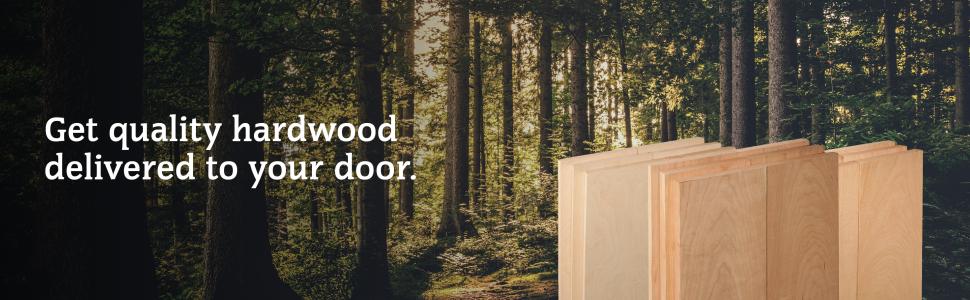 Get quality hardwood delivered to your door