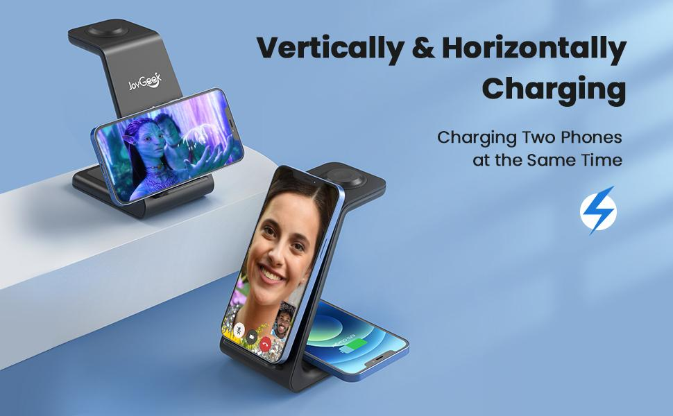 iphone charger station