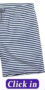 Menamp;#39;s Striped Swim Trunks