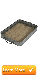 round tray round serving wood tray with handles galvanized serving trays