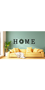 Wood Home Letters for Wall Decor