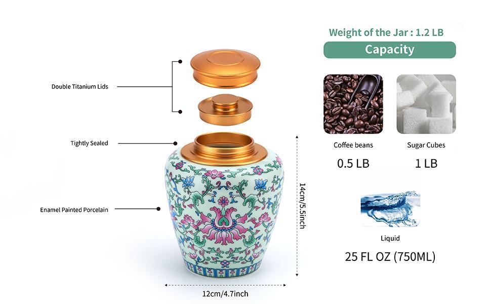 kitchen storage canister cemaric