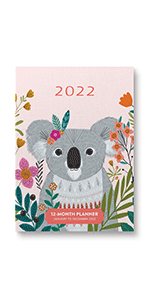 Enchanted Garden Take Me With You Planner 2022