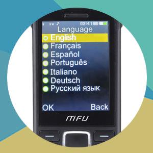 multi language large font basic old mobile phone power banck cheap senoir phone