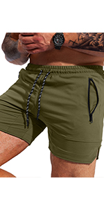 mens workout weightlifting shorts