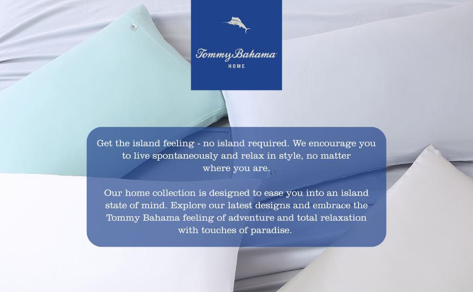 Tommy Bahama Home, Sheet, Blue, Grey, Solid, Durable, Sheet Set, Bedding Set, light weight, Cool