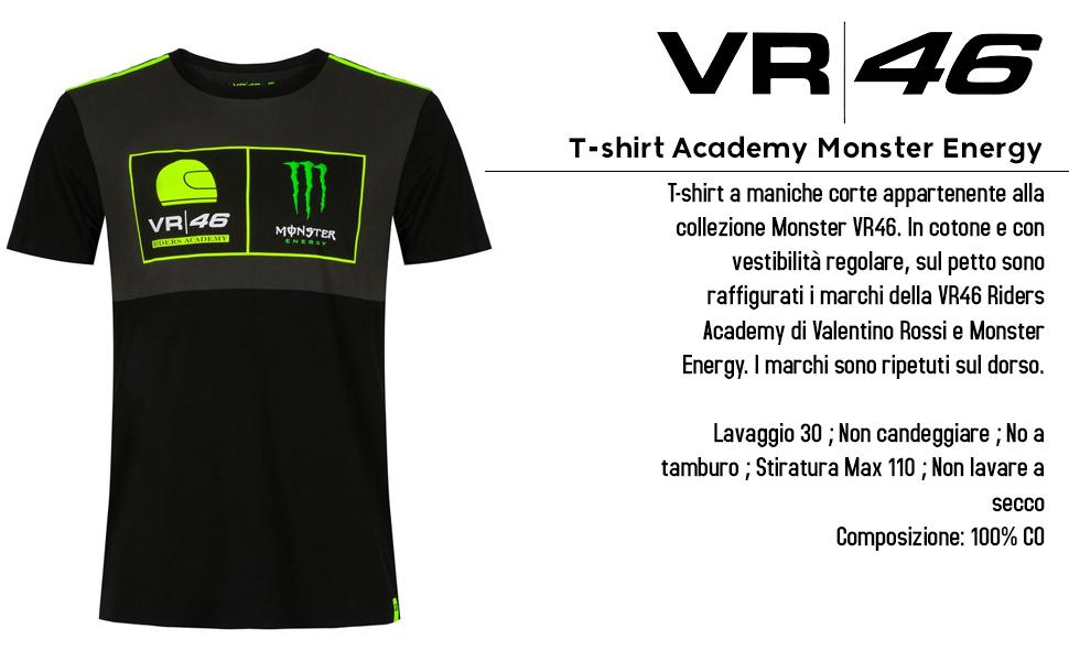 Camiseta Academy Monster Energy