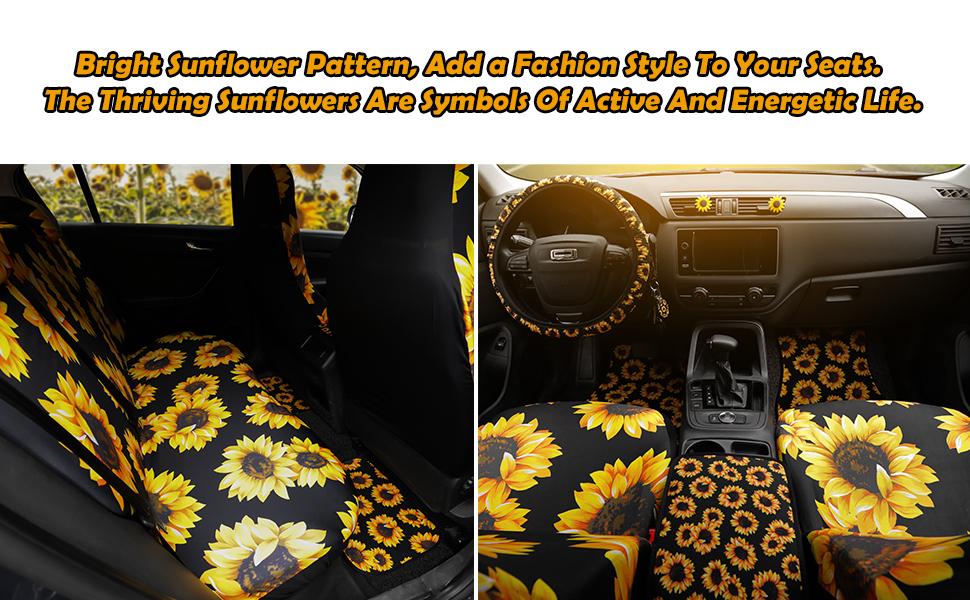 sunflower car seats