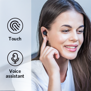 Touch Control and Voice-Assistant Compatible