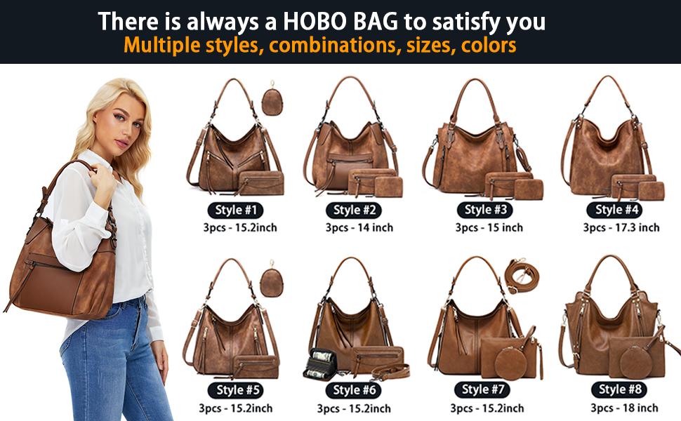 hobo handbags for women purse