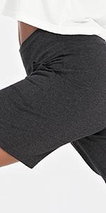 "Womens 7"" Athletic Long Shorts L"