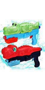 Dinosaur Crocodile Water Blaster Guns