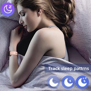 sleep quality (deep sleep, light sleep, and wake-up time)