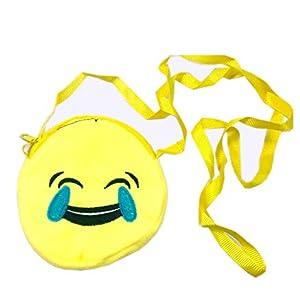 Emoji Yellow Sling Bags