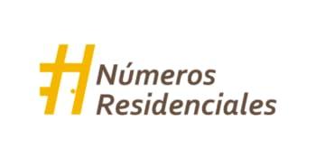 Numeros Residenciales Logo
