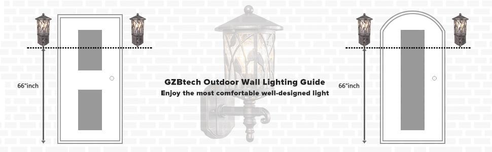 GZBtech wall lighting