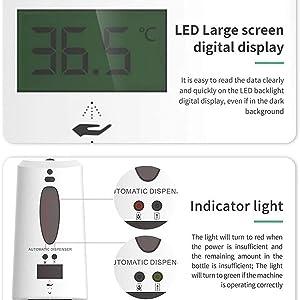 LIEN dispenser LCD screen
