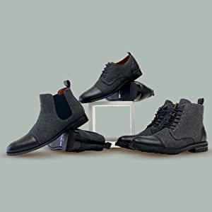 woolen collection, black