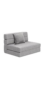grey twin sofa bed