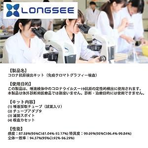 longsee 新型 コロナ 抗原検査キット