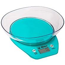 Balança eletrônica de precisão para cozinha com tigela BACITA-5