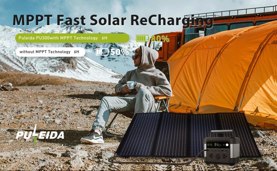 MPPT Fast Solar Recharging