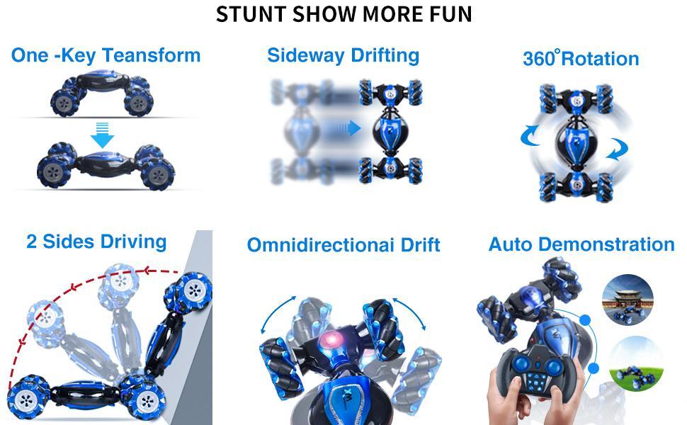 Stunt show more fun