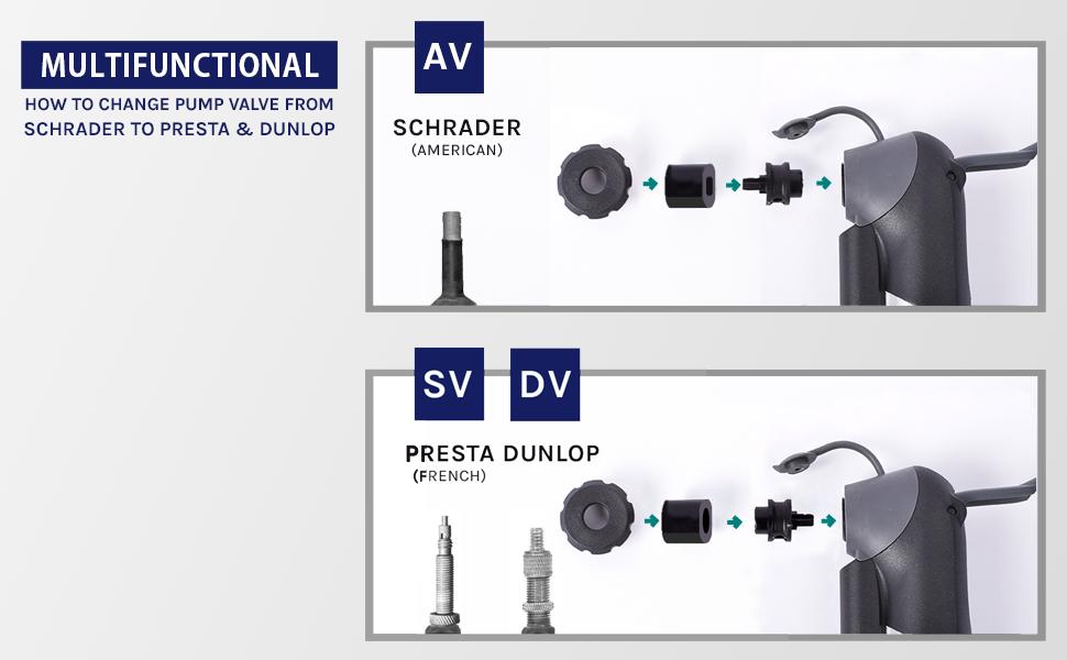 VeloChampion alloy 9 pump changeover valve