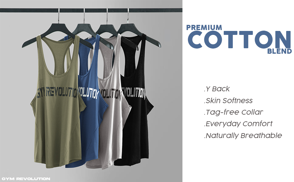 WORKOUT TANK TOPS FOR MEN