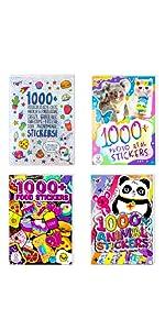 Fashion Angels Sticker Book Bundle