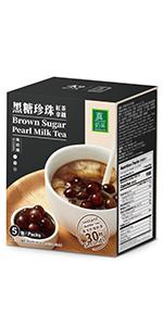 brown sugar bubble milk tea