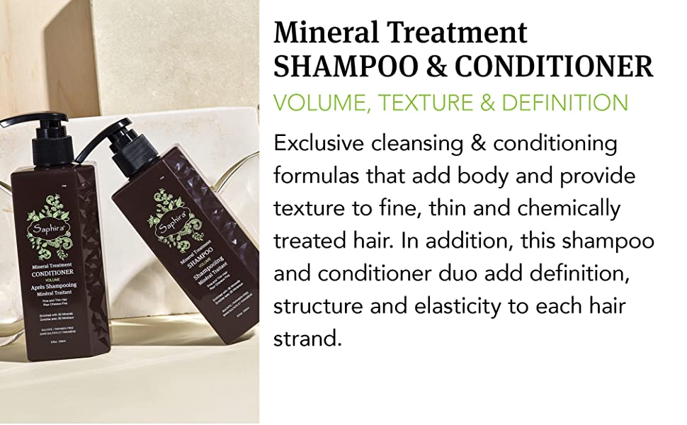 treatment healing scalp hair conditioning volumizing texture fine thin hair duo set