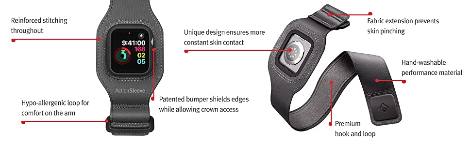 Reinforced stitching, bumper sheild, hand washable, premium hook and loop, design prevents pinching