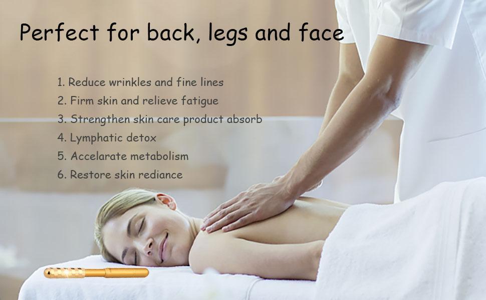 face massager for skin back legs face