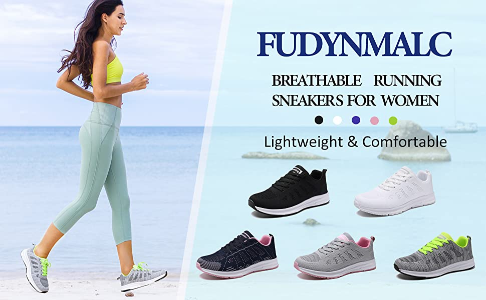 women running sneakers comfortable walking shoes breathable gym athletic sports shoes size 8 9 10