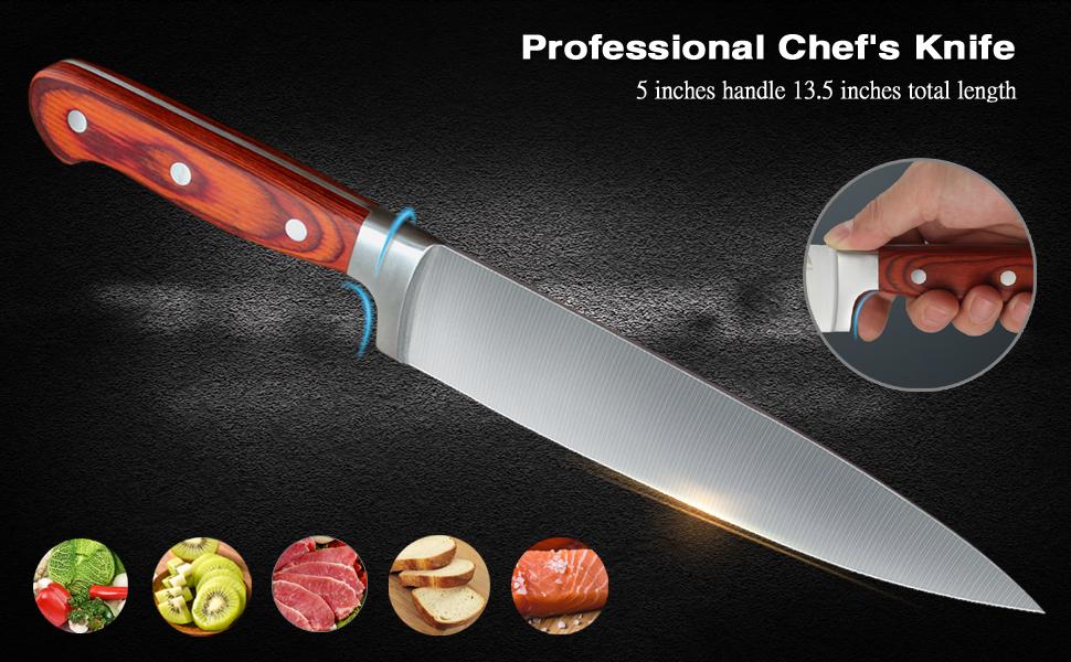 Chef Knife Super Sharp Stainless Steel knife Universal peeler Santoku japanese sushi knives