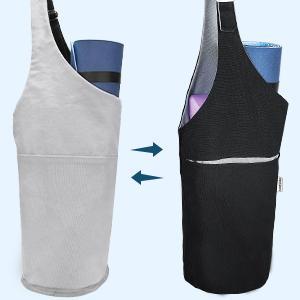 double-sided yoga mat bag