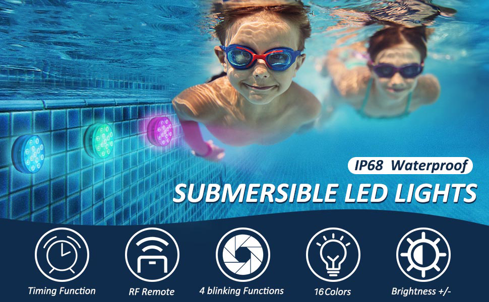 littobia submersible LEDs lights