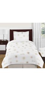 4 Piece Twin Bedding