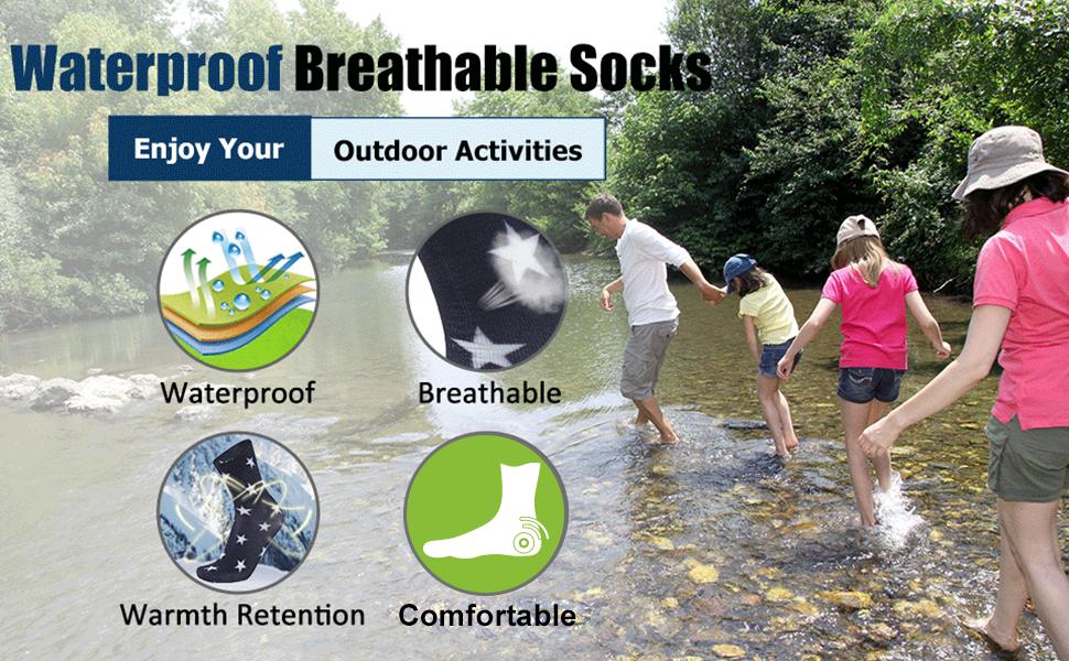 ultrathin waterproof socks