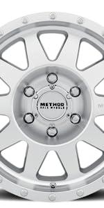 Method Race Wheels 301 in MACHINED Finish