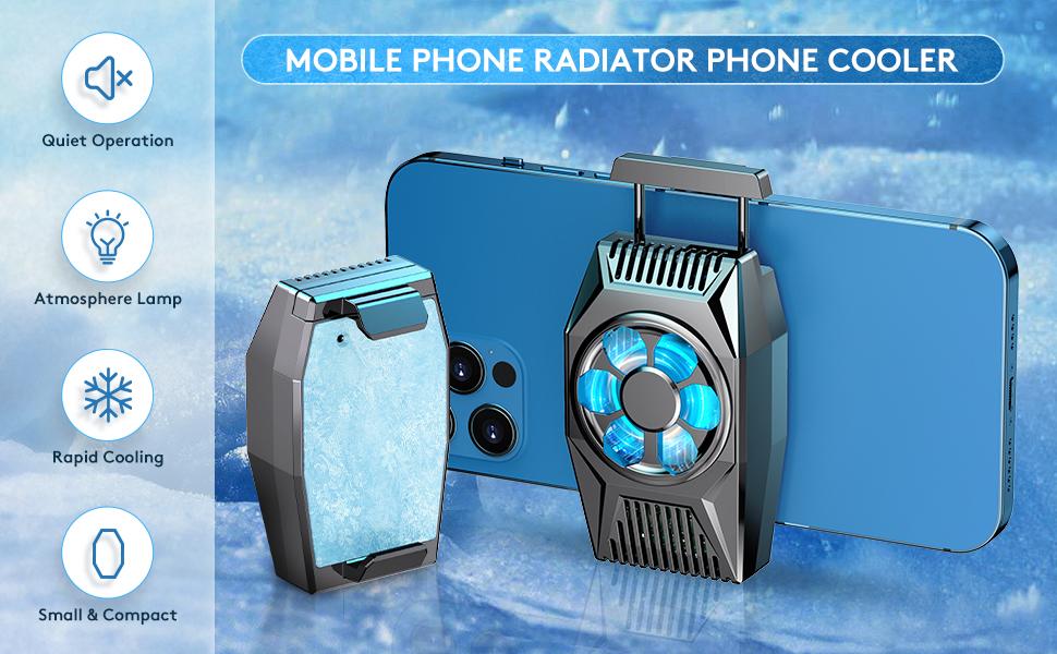 MOBILE PHONE RADIATOR PHONE COOLER