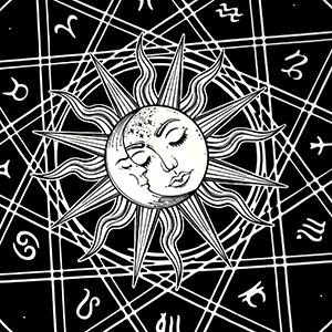 12 Constellation Tapestry