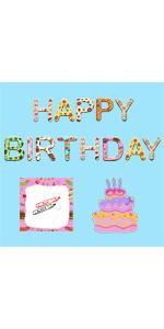 happy birthday sign yard