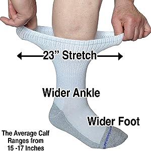 loose fit medical socks