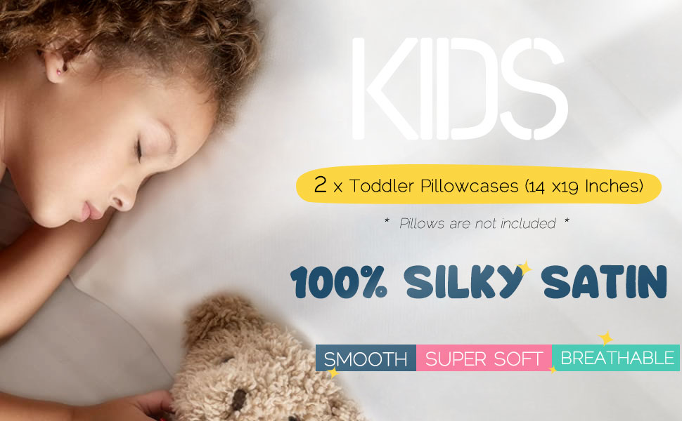 toddler silk pillowcase for hair and skin